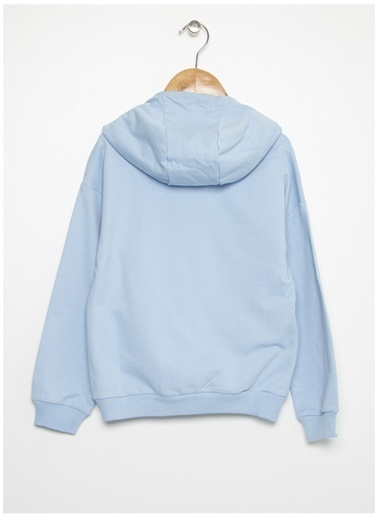 Limon Company Limon Kadın Açık Mavi Sweatshirt Mavi
